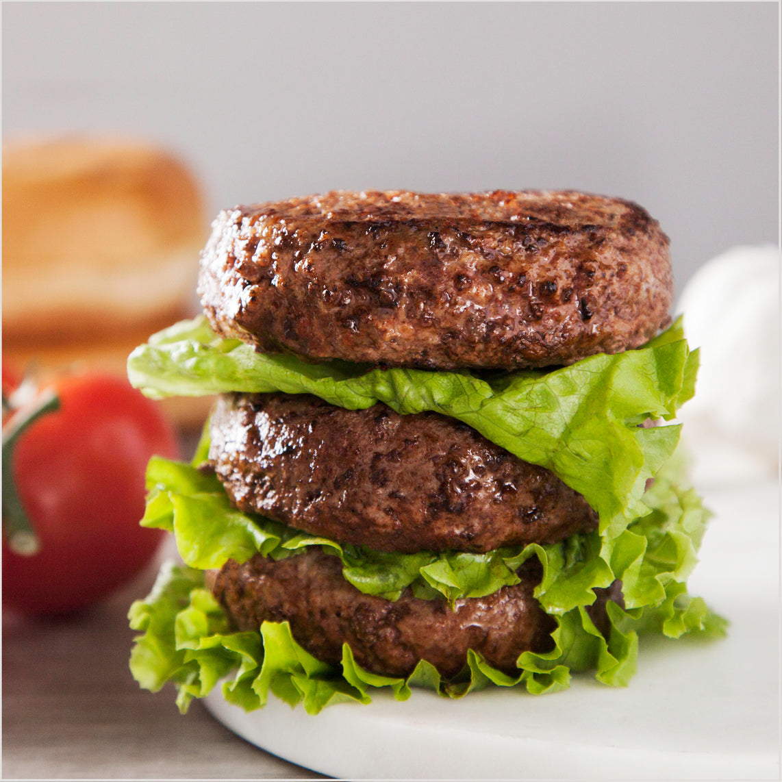 Grass Fed Beef Patties 85 Lean Ground Beef Nutrition 1 3lb 10 Pack Pre