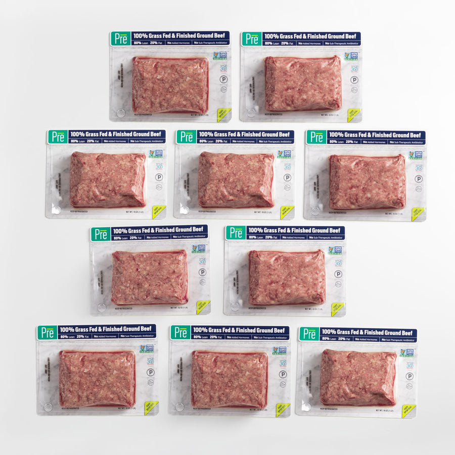 80% Lean Ground Beef - 10 Pack