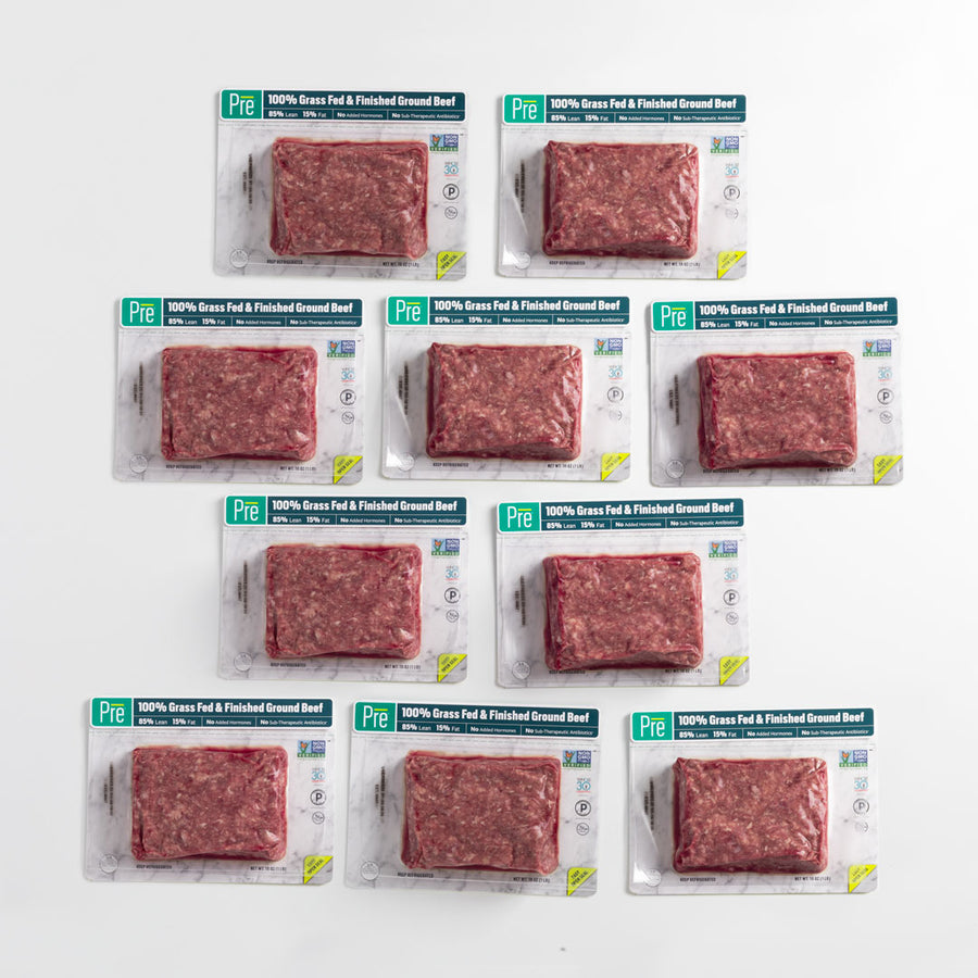 85% Lean Ground Beef - 10 Pack