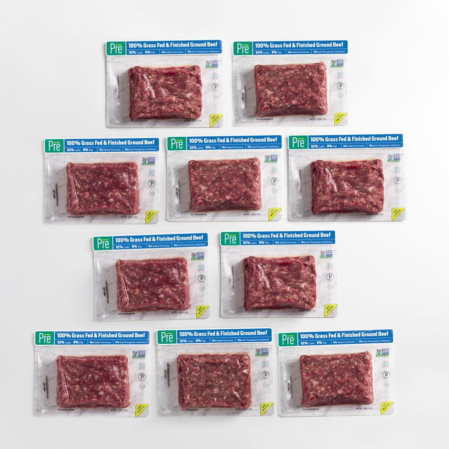 92% Lean Ground Beef - 10 Pack