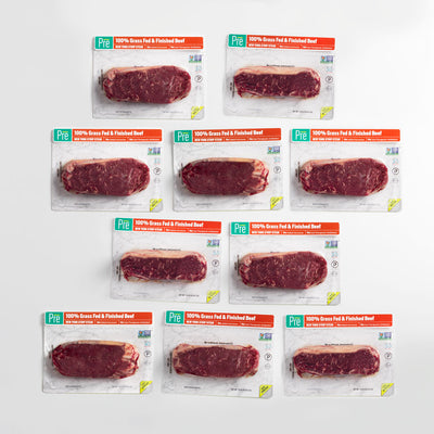 New York Strip - 10 Pack