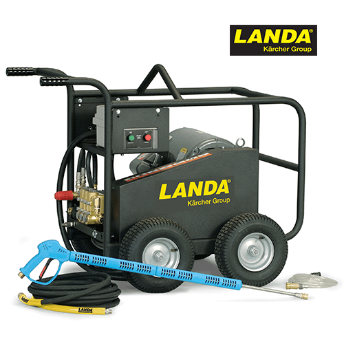 5000 PSI 5 GPM 230v Electric Cold Water Landa Pressure Washer with Landa Pump MPE5-50024B