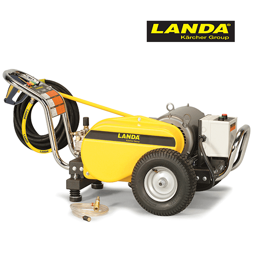 Landa 3000 PSI 3.5 GPM Electric Cold Water 460v 3 Phase Pressure Washer PE4-30024C