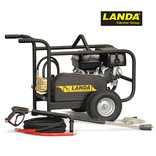 Landa 3500 PSI 3.7 GPM Cold Water Gas Belt Drive Pressure Washer MP-373534