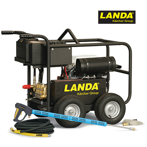 Landa 5000 PSI 4.5 GPM Cold Water Gas Belt Drive Pressure Washer MP-455034E