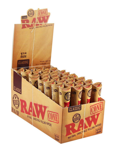 Raw Cones - Classic (Assorted Sizes) 3pk