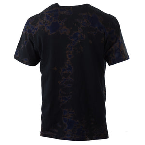Jet Black Crystal Tee American made - C108