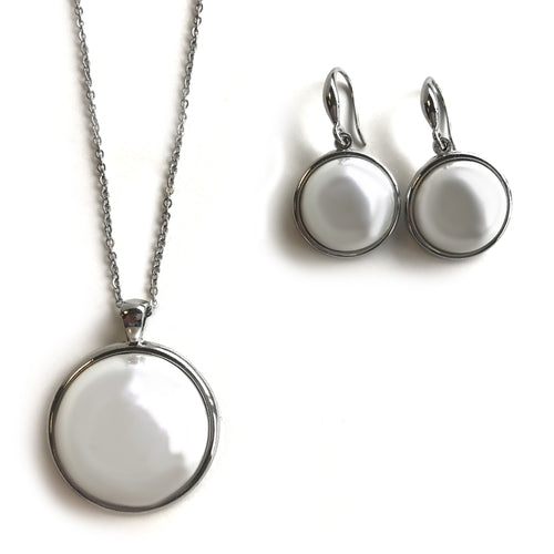 Circle Pearl Set