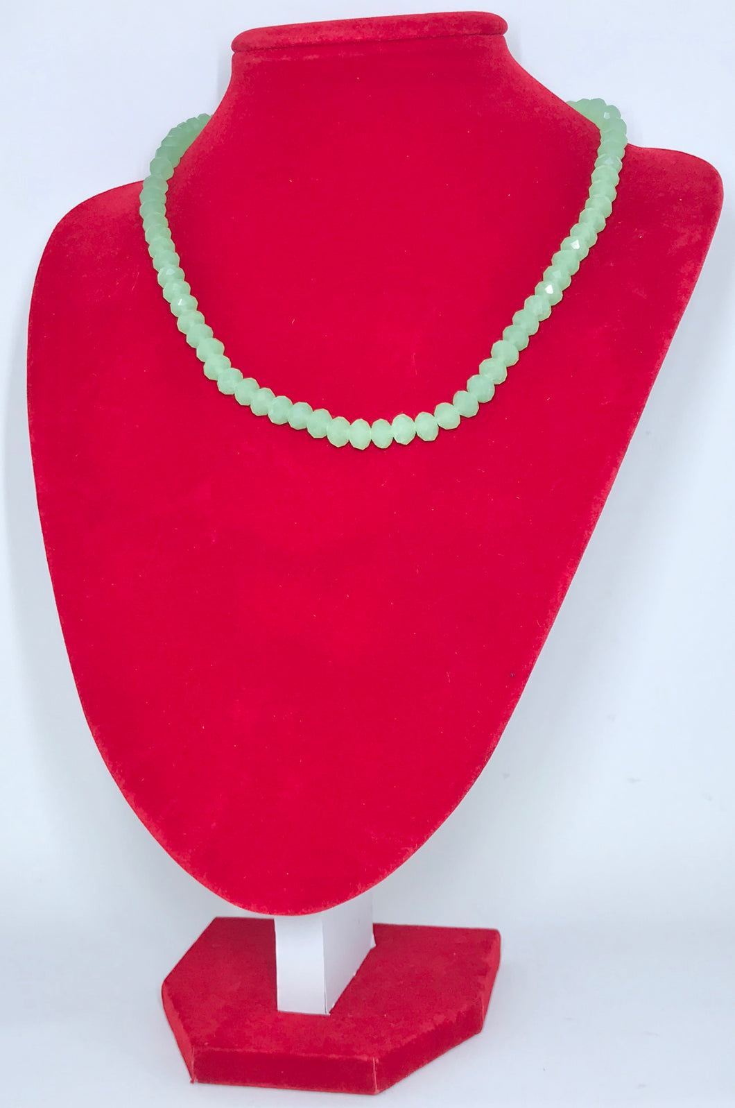 Glass Beads - Light Jade Green/5mm