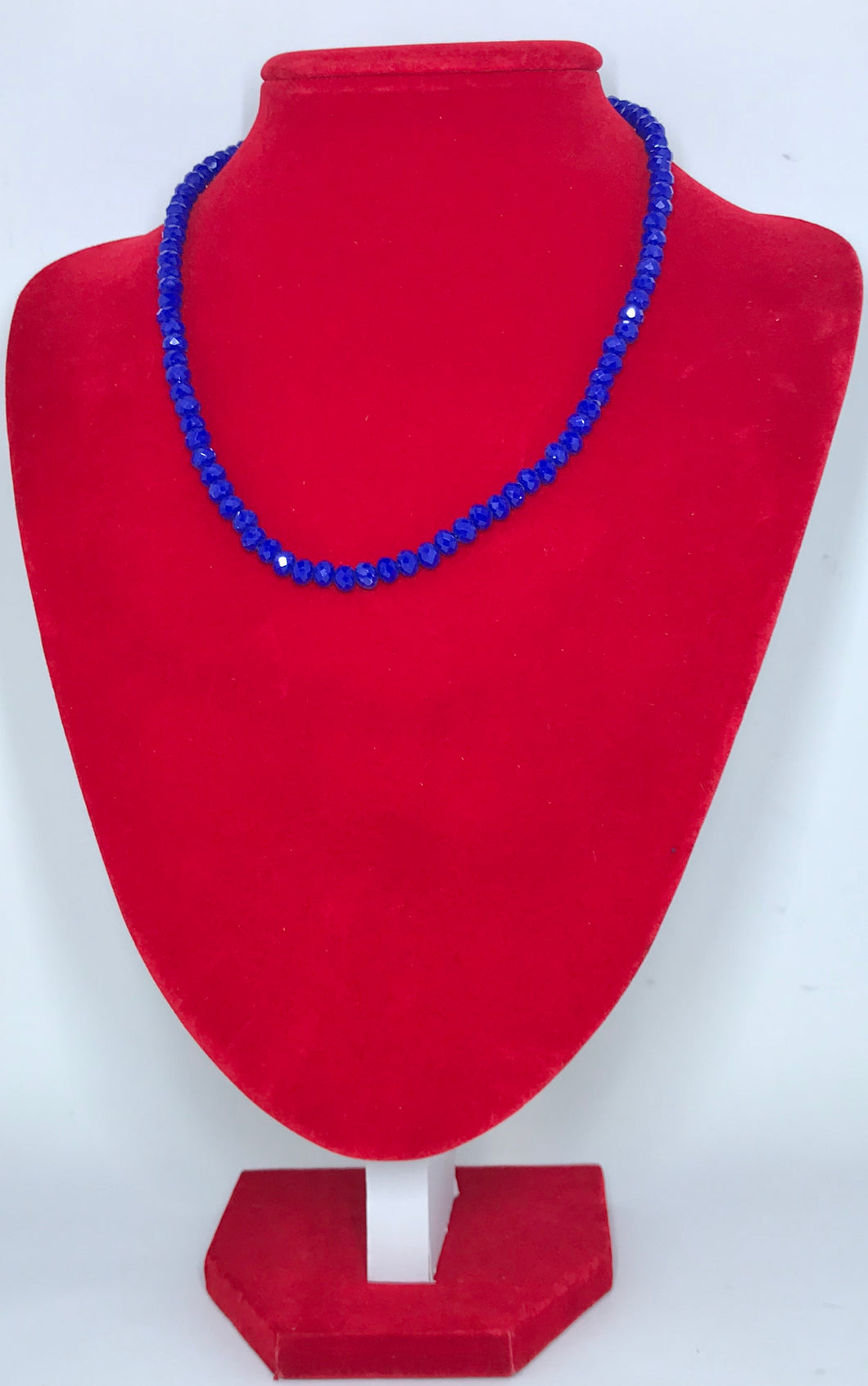 Glass Beads - RoyalBlue/4mm