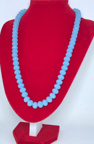 Glass Beads - Pale Blue/8mm