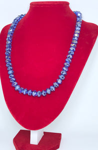 Glass Beads - Sapphire Blue/8mm