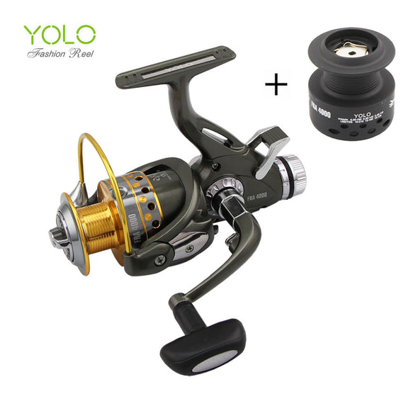 2017 new arrival  Updated Quality  Fishing Reel Smooth Spinning Reel 1 pcs 9+1 BB Carp Fishing Reel Bait Runner Fishing Reel - fishing.org