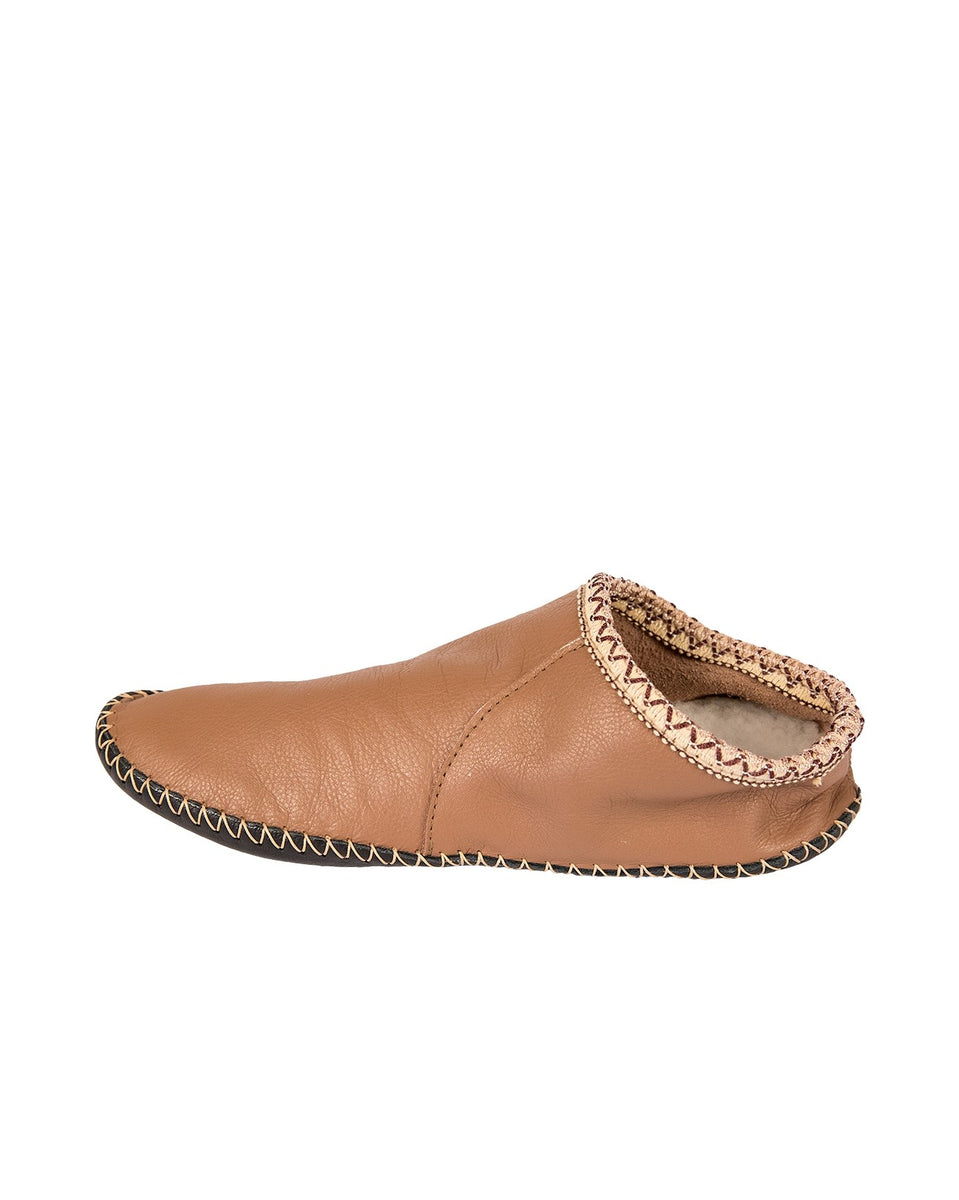 Leather Baboushka Slipper
