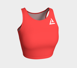 ATA Athletic Crop Top (Coral)