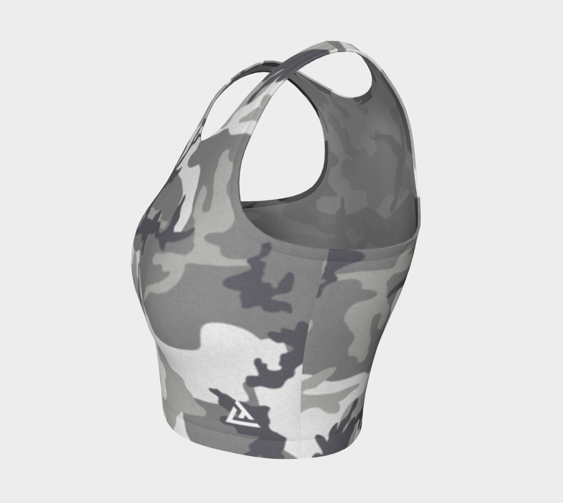 ATA Athletic Crop (Urban Camo Lvl 2)