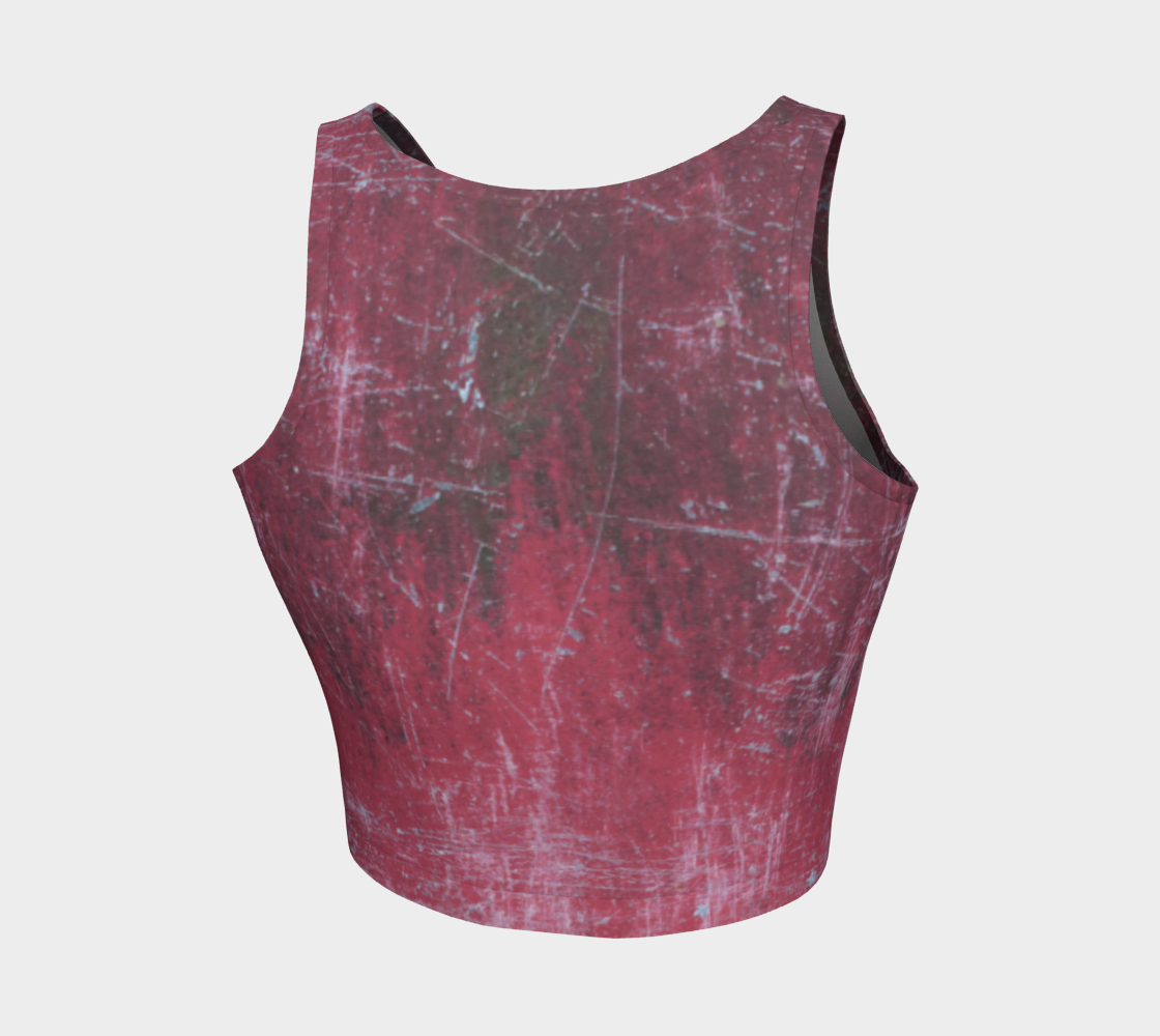 ATA Athletic Crop (Fierce Red Lvl 2)