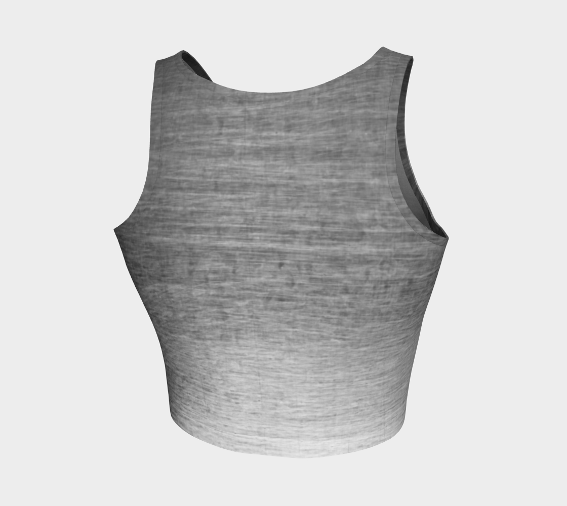 ATA Athletic Crop (Scratched Metal Grey Lvl 2)
