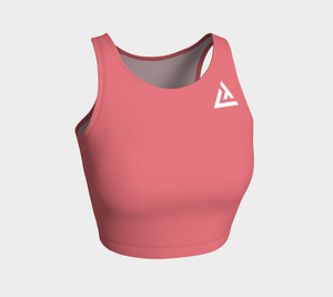 ATA Athletic Crop (Grapefruit Pastel)