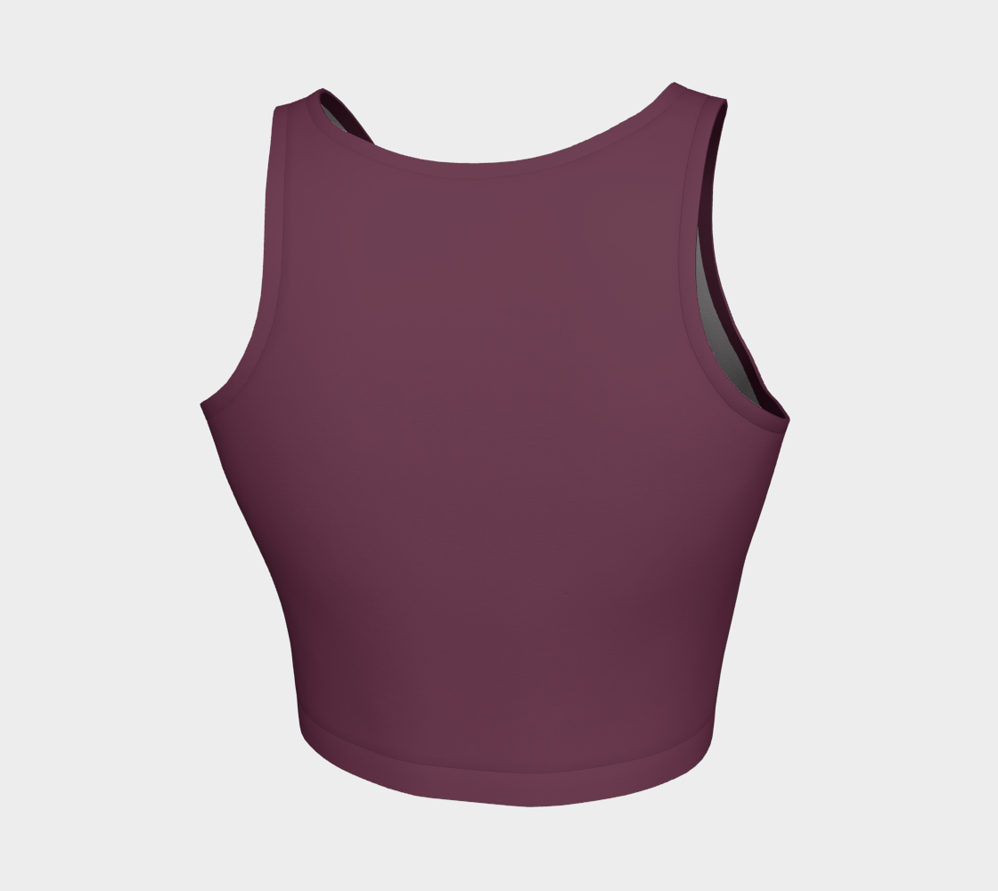 ATA Athletic Crop (Mauve Berry Lvl 2)