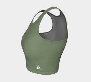 ATA Athletic Crop (Olive Lvl 2)