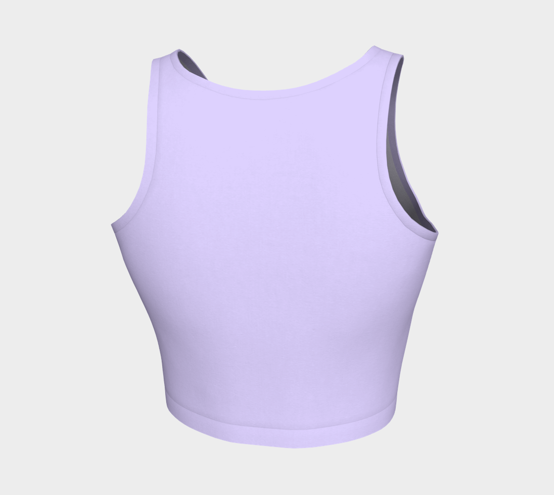 ATA Athletic Crop (Shock Lavender)