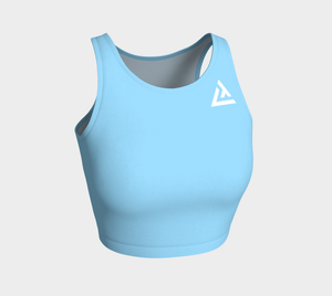 ATA Athletic Crop Top (Sub-Zero Blue)