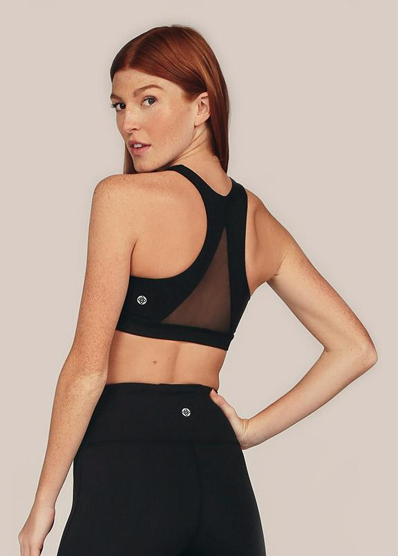in Black + Breathe (Mesh)