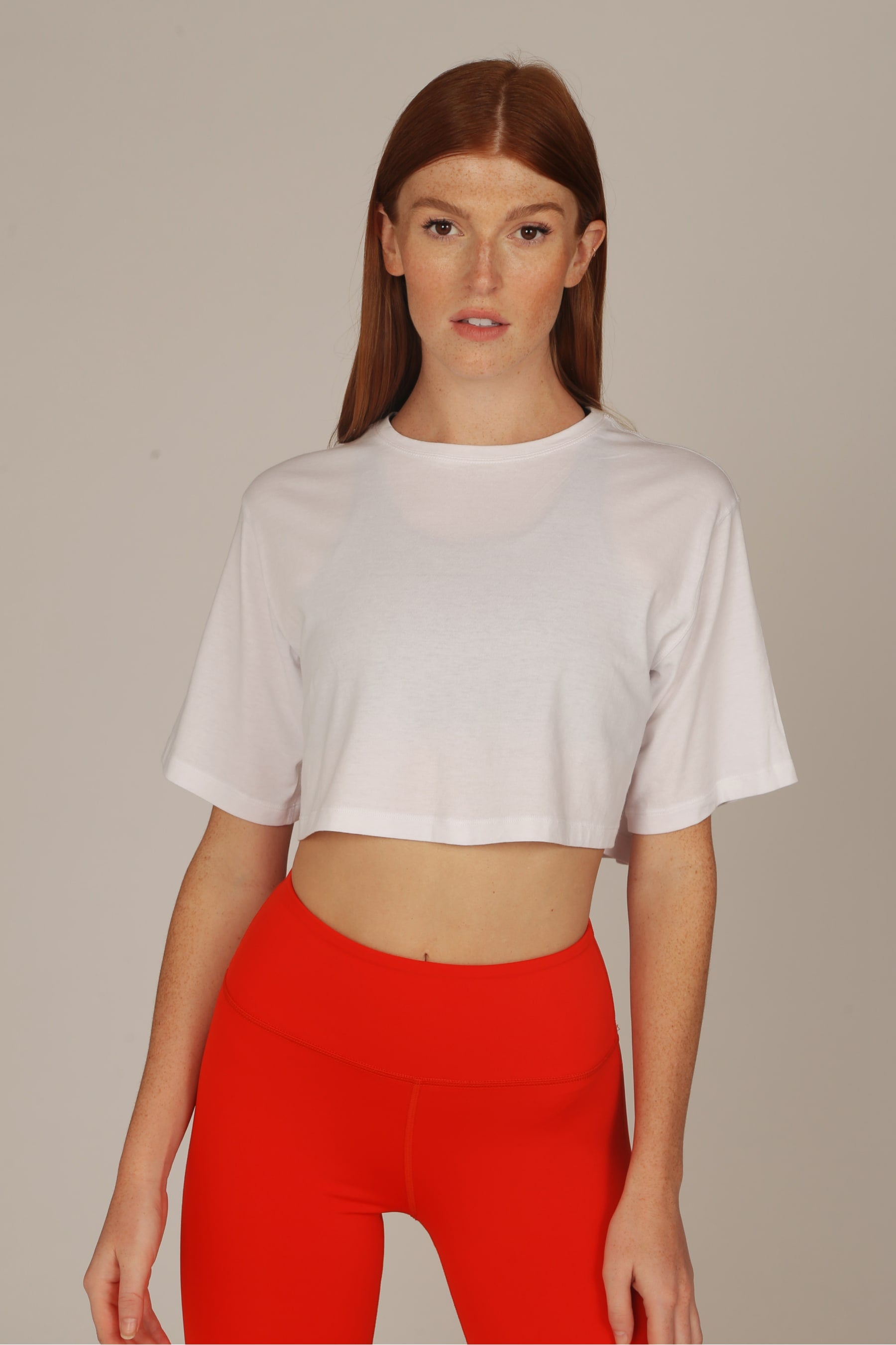 the classic crop tee