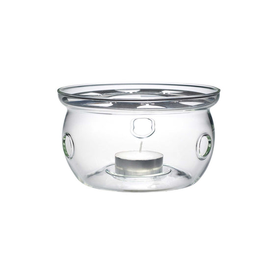teaposy light my fire glass tea warmer