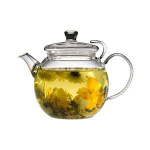 Teaposy herbal infusion in the daydream glass teapot