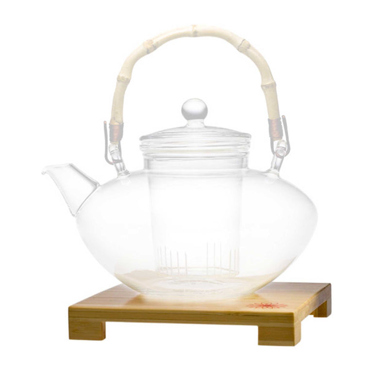 teaposy tea for more teapot bamboo stand