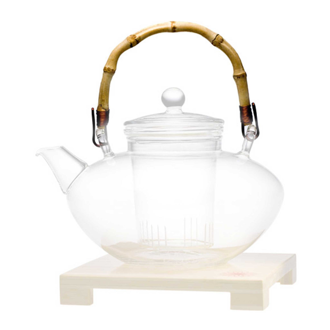 teaposy bamboo handle for tea for more teapot