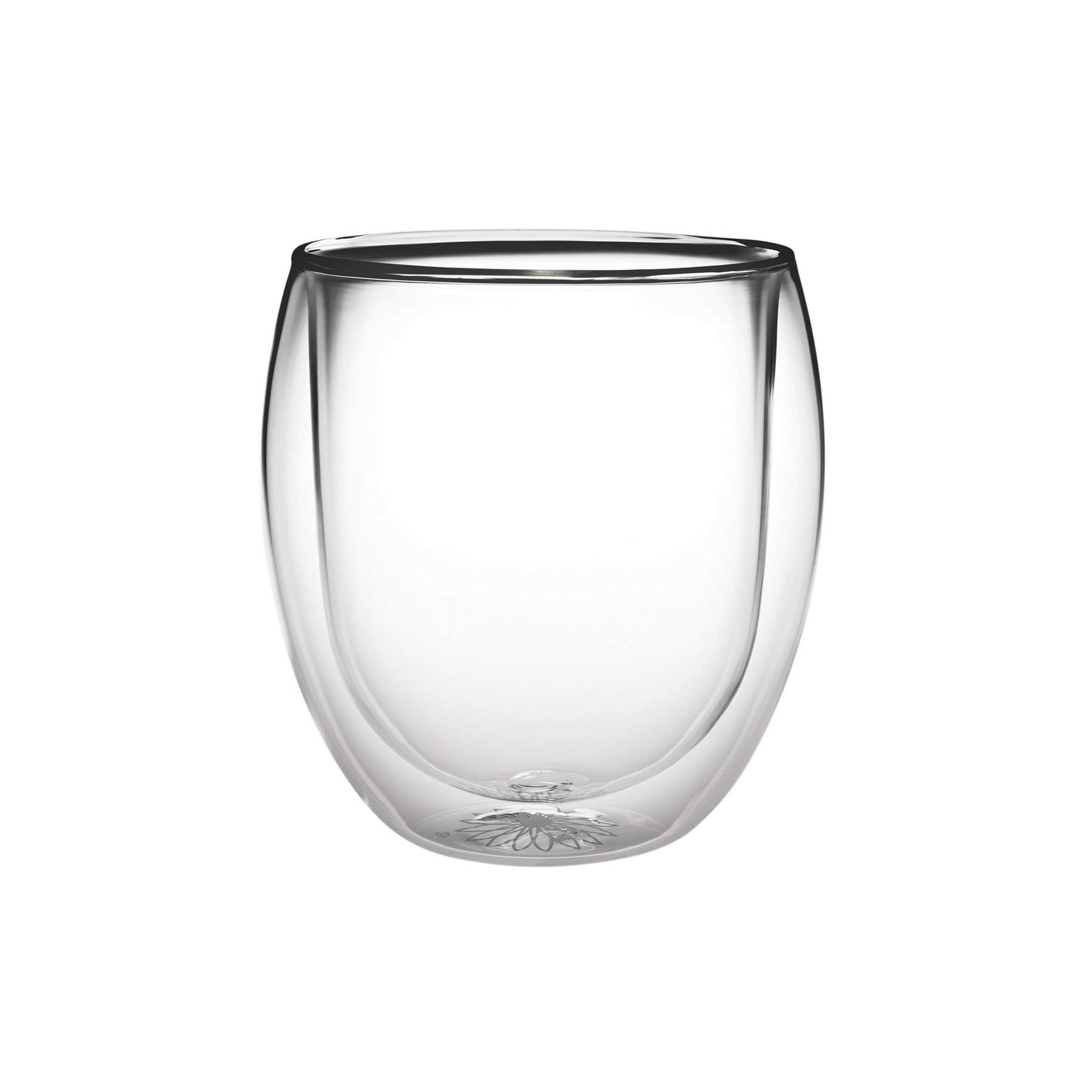 Teaposy rondo double-walled glass tea mug