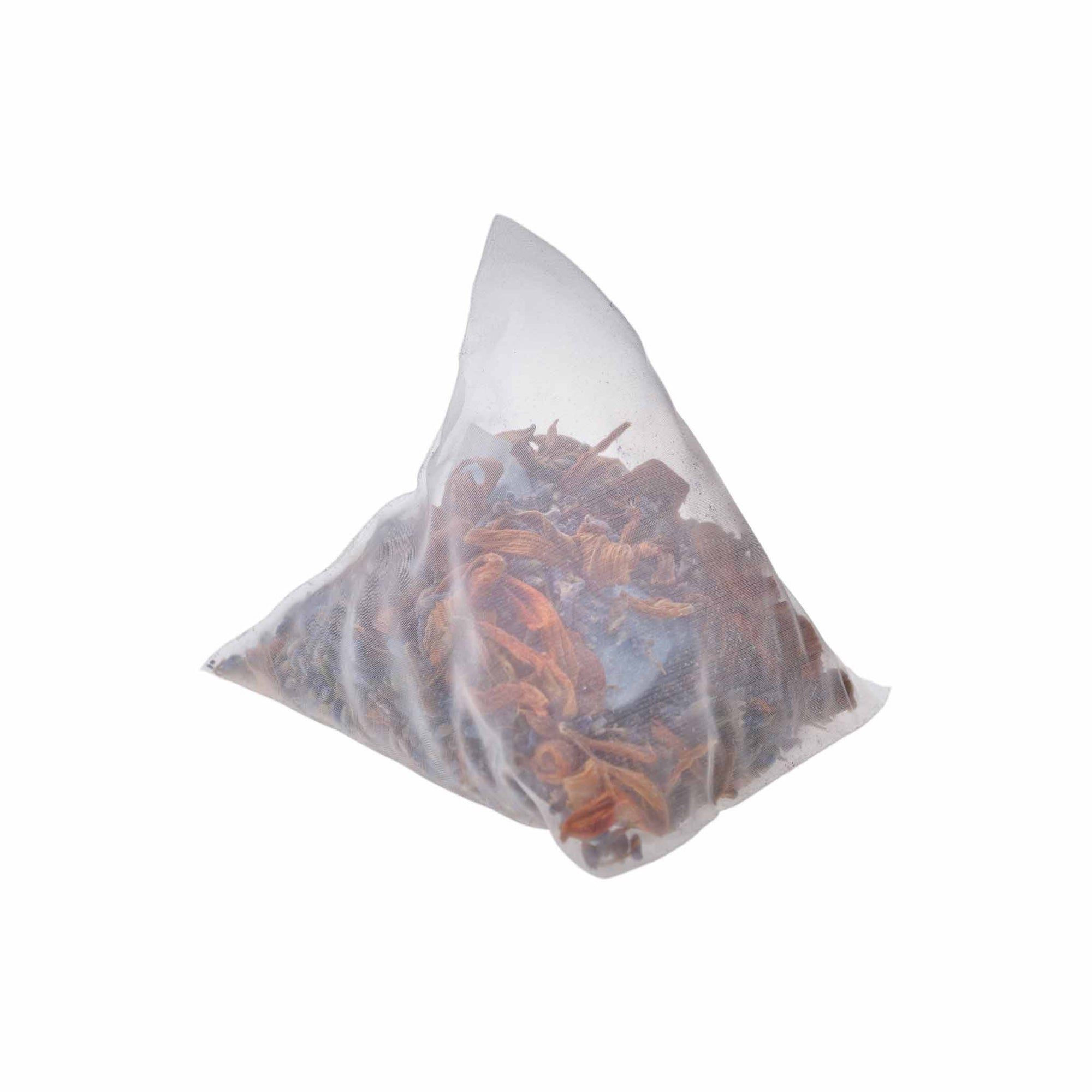 Teaposy flower tea bath with lavender, lily and lavender bath salt in a giant tea sachet