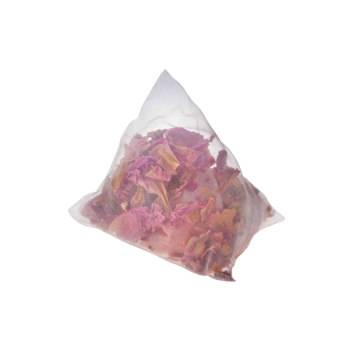 teaposy flower tea bath with rose, peony and rose bath salt