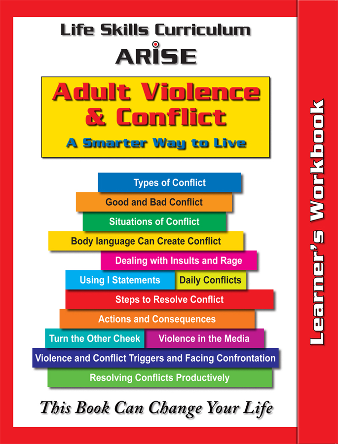 Life Management Skills for Adults: Violence and Conflict (Book 2) - Learner's Workbook