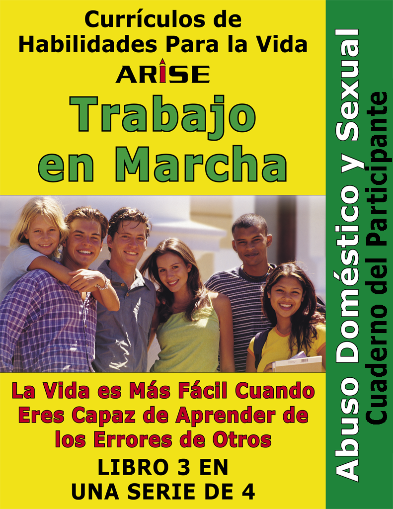 Work In Progress: Domestic & Sexual Abuse (Book 3) - Learner's Workbook (Spanish version)