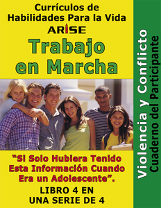Work In Progress: Violence and Conflict (Book 4) - Learner's Workbook (Spanish version)