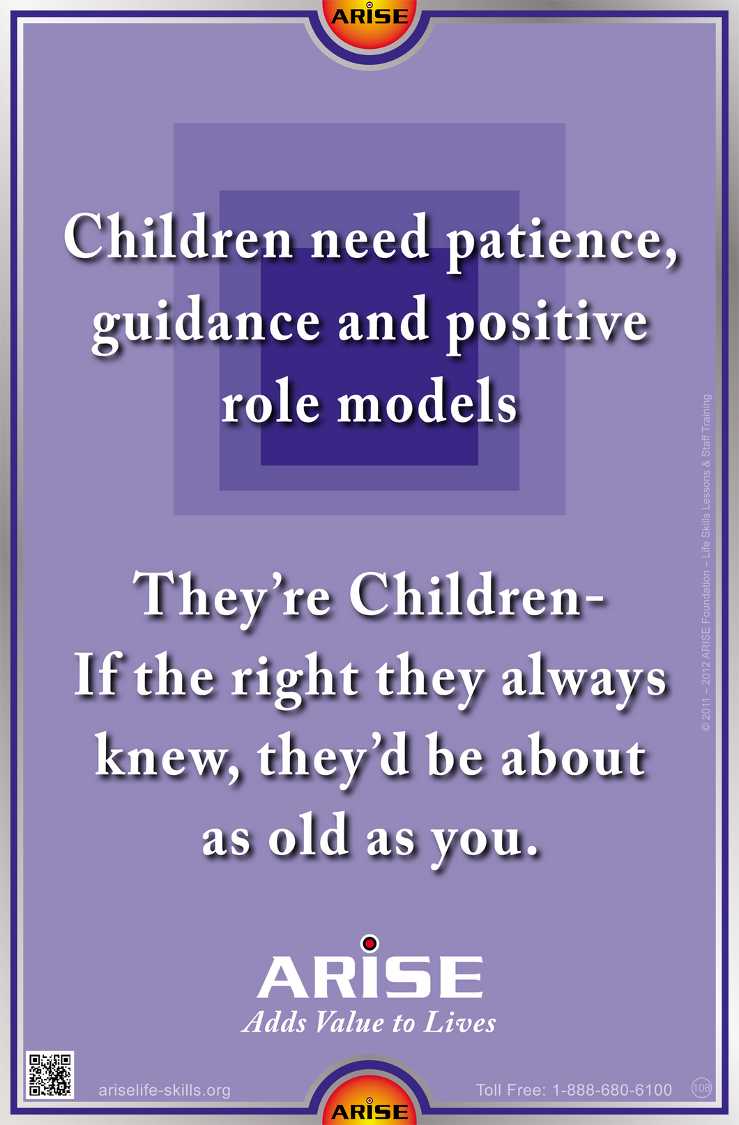 #108 Children Need Patience