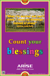 #149 Count Your Blessings