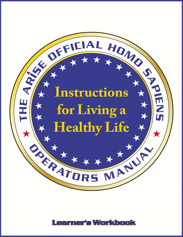 Instructions For Living a Healthy Life - Learner's Workbook