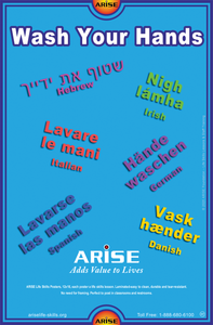 ARISE Posters - Coronavirus Prevention Package (8 Posters)