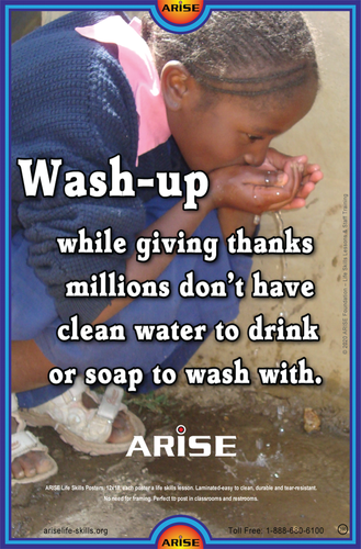 #390 Wash Up Give Thanks for Clean Water