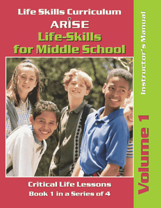 Life Skills for Middle School: Anger, Conflict and Drugs (Volume 1) - Instructor's Manual