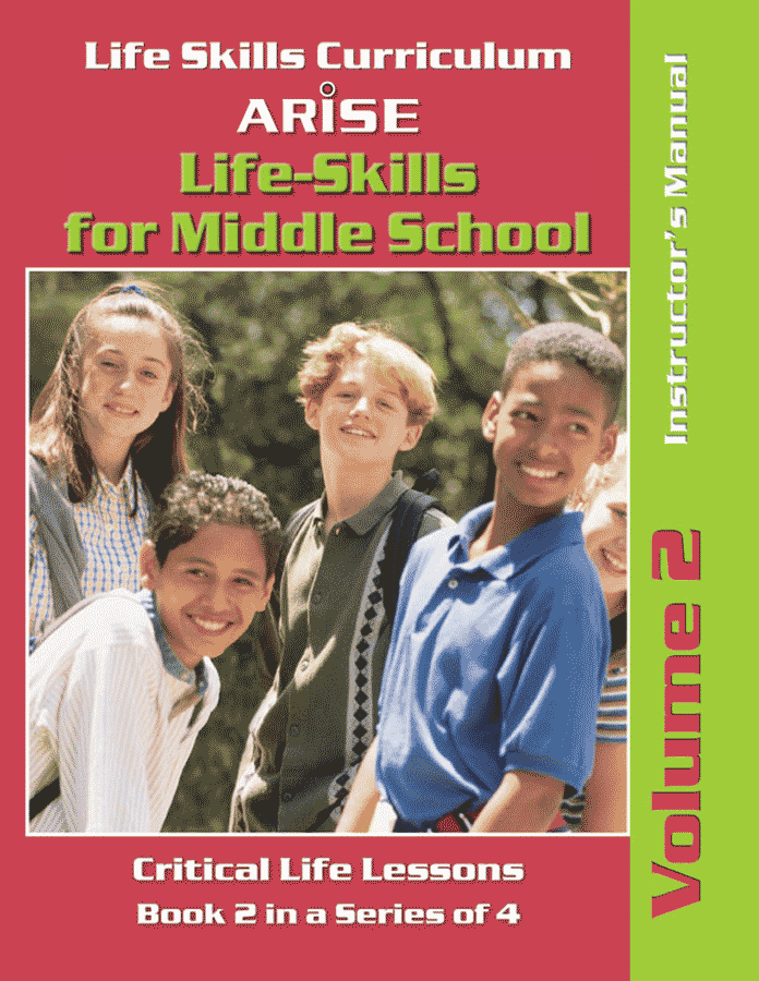 Life Skills for Middle School: Learning Strategies (Volume 2) - Instructor's Manual