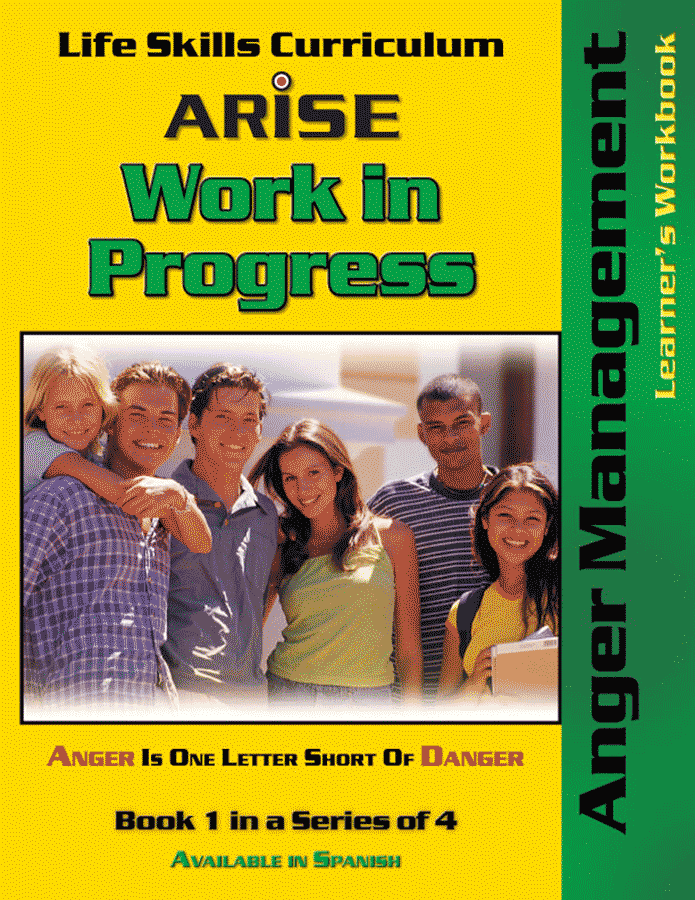 Work In Progress: Anger Management (Book 1) - Learner's Workbook