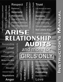 Relationship Audits and More for Girl's Only (B&W) - Instructor's Manual