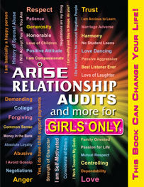 Relationship Audits and More for Girl's Only (Full Color) - Learner's Workbook