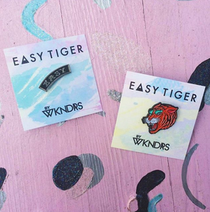 WKNDRS x EASY TIGER PIN